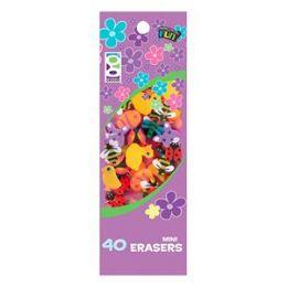 48 of 40 Ct. Spring Mini Erasers