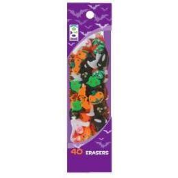 48 of 40 Ct. Halloween Mini Erasers