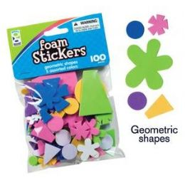 96 of Foam Stickers Assortment