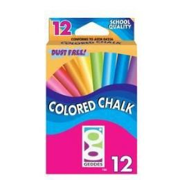 144 of 12 Ct Color Chalk Pack