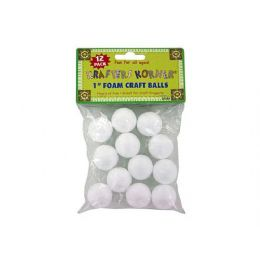 72 of Foam Craft Balls