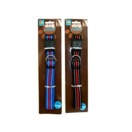 """72 of Dog Collar, Fits 18-24"""" Neck, Assorted Colors"""