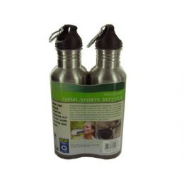 6 of Stainless Steel Sports Bottle Set