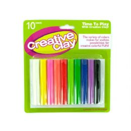 72 of Modeling Clay Set 10 Pack