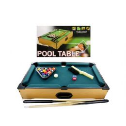3 of Tabletop Pool Table, 22 Pieces