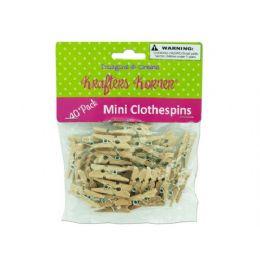 72 of Mini Craft Clothespins