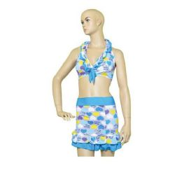 72 of Woman Swim Suit 3 Piece Set Print
