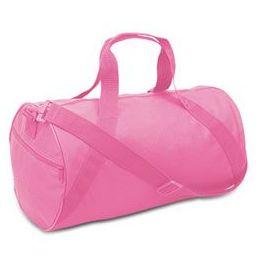 24 of Barrel Duffel - Hot Pink