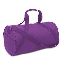 24 of Barrel Duffel - Purple