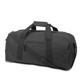 12 of Large Square Duffel - Black