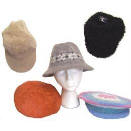 72 of Assorted Ladies Winter Hats