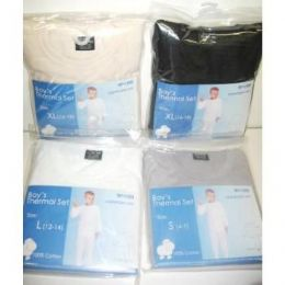 48 of Boys Thermal Underwear Sets