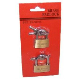 72 of Brass Mini Padlocks