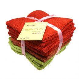 48 of Wash Cloth 12x12 12pk