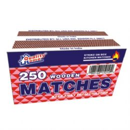 48 of 2 Pack Matches 250ct