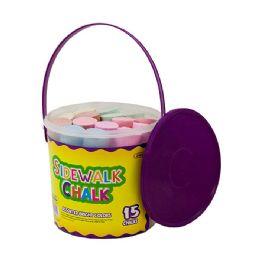 24 of Jumbo Color Chalks (15/bucket)
