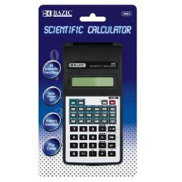 48 of 10-Digit Scientific Calculator W/ Flip Cover