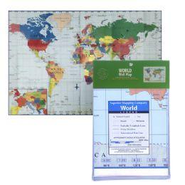 24 of Folded World Map