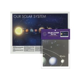 24 of Folded Solar System Wall Map