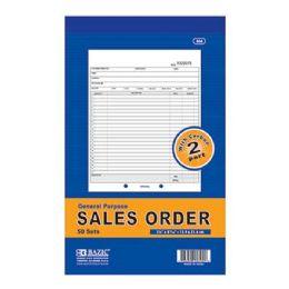 """24 of 50 Sets 5 9/16"""" X 8 7/16"""" 2-Part Sales Order W/ Carbon"""