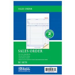 """24 of 50 Sets 5 9/16"""" X 8 7/16"""" 2-Part Carbonless Sales Order"""