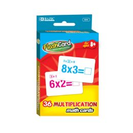 24 of Multiplication Flash Cards (36/pack)