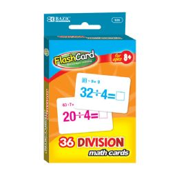 24 of Division Flash Cards (36/pack)