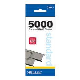 24 of 5000 Ct Standard (26/6) Staples