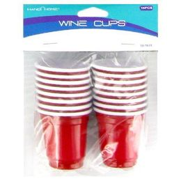 72 of 16pc Plastic Shot Glasses Red Solo Cup Shot Glasses