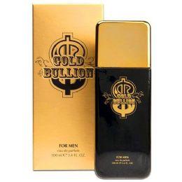 24 of Gold Bullion For Men 3.4oz 100ml Sandora Collection