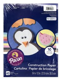 12 of Pacon Creative Products Construction Paper 40 Sheets
