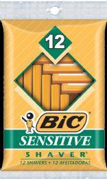 12 of Bic Shaver Sensitive 12 Pk