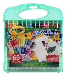 6 of Crayola Washable Pip-Squeaks Markers & Paper Set