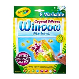 12 of Crayola Window Markers 8Ct