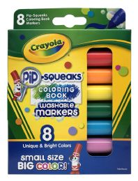 6 of Crayola 8 Pip-Squeaks Washable Markers