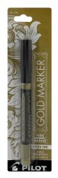 6 of Pilot Metallic Gold Paint Marker, Extra Fine Point (0.5Mm), Gold, 1 Count