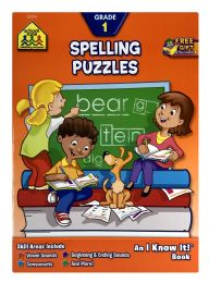 6 of School Zone Publishing Company Spelling Puzzles