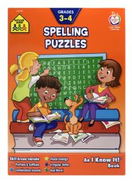 6 of School Zone An I Know It! Book Spelling Puzzles