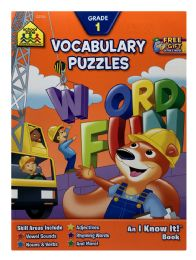 6 of School Zone An I Know It! Book Vocabulary Puzzles