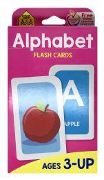 8 of School Zone Alphabet Flash Cards