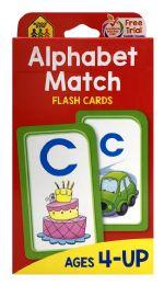 8 of School Zone Alphabet Match Flash Cards