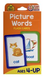8 of School Zone Picture Words Flash Cards
