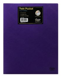 72 of Ischolar Twin Pocket Poly Portfolio