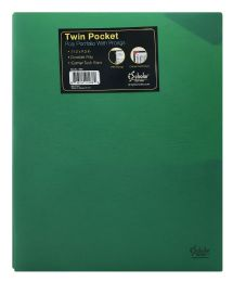 72 of Ischolar Twin Pocket Poly Portfolio With Prongs