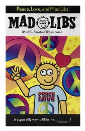 6 of Mad Libs World'S Greatest Word Game Peace, Love, And Mad Libs