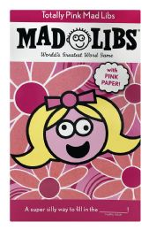 6 of Mad Libs World'S Greatest Word Game With Pink Paper