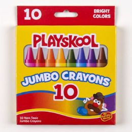 48 of Playskool Crayons 10ct Jumbo