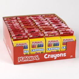 48 of Playskool Crayons 24ct