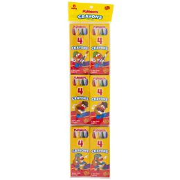 48 of Playskool Crayon 6x4ct Packs