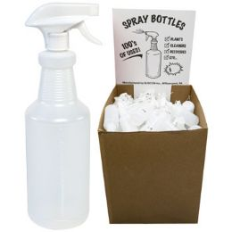 126 of Spray Bottle 32 Oz W/adjustable Sprayer In Flr Disp Ea W/upc